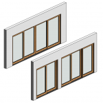 Download CAD files for Botanica Sliding Door