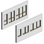 Download CAD files for Botanica Casement Window
