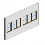 Download CAD files for Botanica Double Hung Window – Traditional