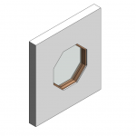 Download CAD files for Botanica Custom Fixed Window – Octagonal