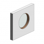 Download CAD files for Botanica Custom Fixed Window – Porthole