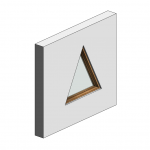 Download CAD files for Botanica Custom Fixed Window – Triangular