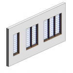 Download CAD files for Botanica Louvre Window