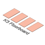 Download CAD files for Kooltherm K3 Floorboard