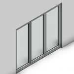 Download CAD files for Signature Bifold Door (100mm)