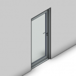 Download CAD files for Commercial Hinged Door-Inward Opening-CP (100mm)
