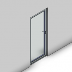 Download CAD files for Signature TB Hinged Door-Outward Opening (100mm)
