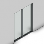 Download CAD files for Signature Sliding Door-2 Panel (100mm)