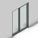 Download CAD files for Signature TB Sliding Door-2 Panel (100mm)
