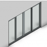 Download CAD files for Signature TB Sliding Door-4 Panel (100mm)