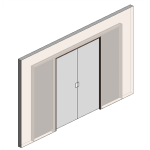 Download CAD files for CS Cavity Slider-Standard Range-Biparting