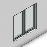 Download CAD files for Essential Casement Window (52mm)