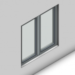 Download CAD files for Signature LB Casement Window (100mm)