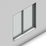 Download CAD files for Essential Fixed Window (52mm)