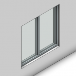 Download CAD files for Signature Fixed Window-IG (100mm)