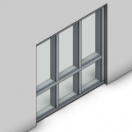 Download CAD files for Commercial Frame-Front Pocket (100mm)