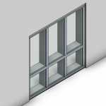 Download CAD files for Commercial Frame-Front Pocket (150mm)