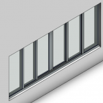 Download CAD files for Signature Sliding Window-6 Panel (100mm)