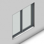 Download CAD files for Signature Sliding Window-2 Panel (67mm)