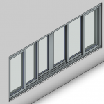 Download CAD files for Signature TB Sliding Window-6 Panel (150mm)