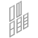 Download CAD files for CS NewYorker Door Leaf