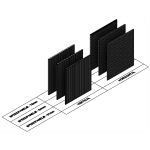Download CAD files for Speedpanel Curtain Walls (Bare Panels)