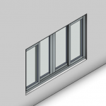 Download CAD files for Signature TB Sliding Window-4 Panel (100mm)