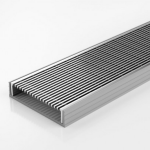 Download CAD files for Linear Drain-PVC Channel & SS Grate-Modular Kit