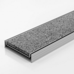 Download CAD files for Linear Drain-PVC Channel & Tile Grate-Modular Kit