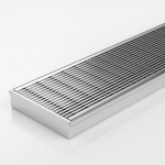 Download CAD files for Linear Drain-SS Channel & SS Grate-Made To Length