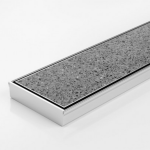 Download CAD files for Linear Drain-SS Channel & Tile Grate-Made To Length