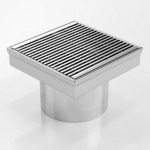 Download CAD files for Square Floor Waste-SS Grate