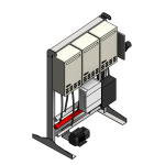 Download CAD files for Tankpak-External-Series 3 (Deluxe) – TPE03 Wall/Floor Mounted