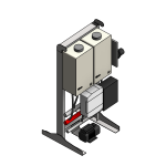Download CAD files for Tankpak-Internal-Series 3 (Deluxe) – TPE02 Wall/Floor Mounted