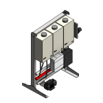 Download CAD files for Tankpak-Internal-Series 3 (Deluxe) – TPE03 Wall/Floor Mounted