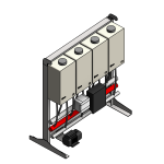 Download CAD files for Tankpak-Internal-Series 3 (Standard) – TPI04 Wall/Floor Mounted