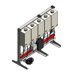 Download CAD files for Tankpak-Internal-Series 3 (Standard) – TPI05 Wall/Floor Mounted