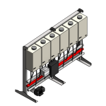 Download CAD files for Tankpak-Internal-Series 3 (Standard) – TPI06 Wall/Floor Mounted