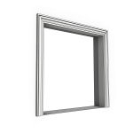 Download CAD files for Uni-Shape Window Architrave 1052 with Reveal