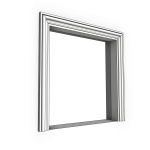 Download CAD files for Uni-Shape Window Architrave 2052 with Reveal