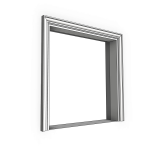 Download CAD files for Uni-Shape Window Architrave 3084 with Reveal