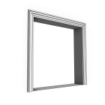 Download CAD files for Uni-Shape Window Architrave 1052