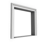 Download CAD files for Uni-Shape Window Architrave 2052