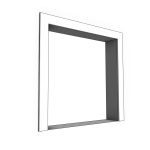 Download CAD files for Uni-Shape Window Architrave 2057
