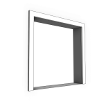 Download CAD files for Uni-Shape Window Architrave 2059