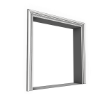 Download CAD files for Uni-Shape Window Architrave 3054