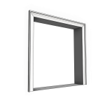 Download CAD files for Uni-Shape Window Architrave 3055