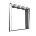Download CAD files for Uni-Shape Window Architrave 3084