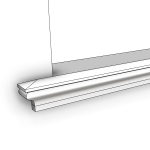 Download CAD files for Uni-Shape Window Sill 2077
