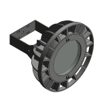 Download CAD files for Floodlight – EVL100 (Wall Mounted)
